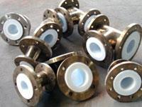 Molded steel lined PTFE pipes and pipe fittings Manufactures