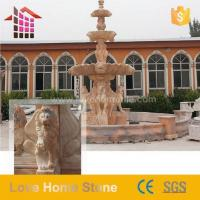 China Made Rock Water Wall Fountain Features For Outdoor Garden Manufactures
