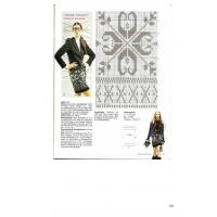 Handmade Christmas fashion with snowflakes, knitting patterns Manufactures