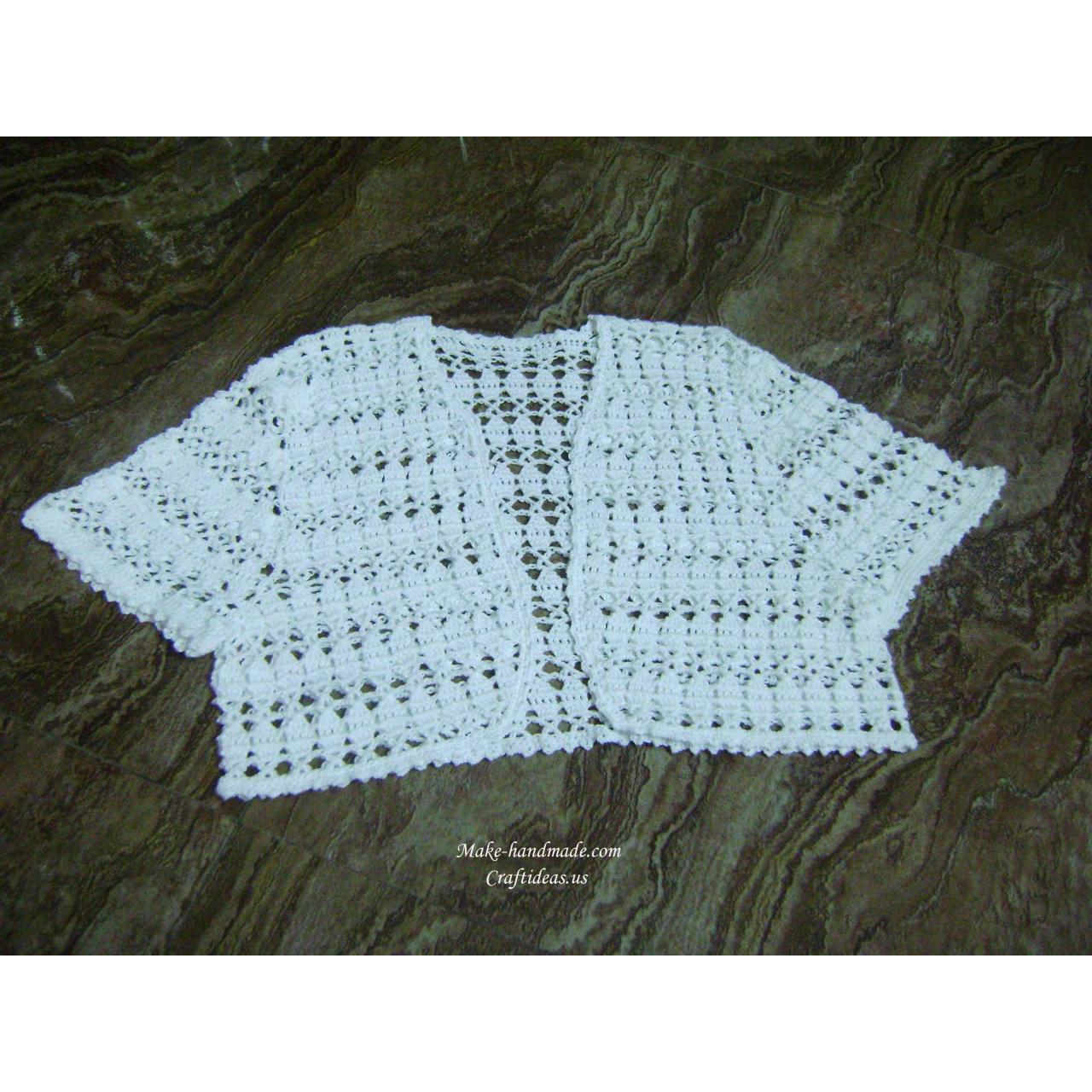 Buy cheap Handmade Crochet summer lace vest and jacket from wholesalers