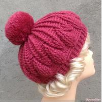 Buy cheap Handmade Crochet so cute cabled hats and berets for women from wholesalers