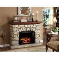 Indoor Wall Electric Fireplace with Fan Heater Manufactures
