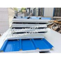 Buy cheap Fireproof Cold Room Insulation Panel And Insulated Roofing EPS Sandwich Panels Width 1150mm from wholesalers