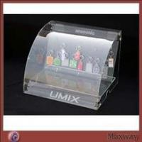 Buy cheap MaxWay Inspection Strict multi-useful acrylic keychain cosmetic slant cabinet box from wholesalers