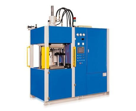 Quality Vertical precise Rubber Injection Molding Machine with Inline Screw (first in -first out) for sale