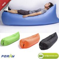 China TPU Outdoor Inflatable Lounger Beach Lounger Convenient Air Bed Hangout Bean Bag Portable Sofa Couch on sale