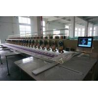 Rhinestone Mixed with Sequin Easy Cording Computer Embroidery Machine Manufactures