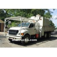 2001 F-750 Knuckle Boom 14ft Chip Truck Manufactures