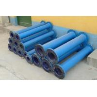 China Chemical and agrochemical glass lined reactor repair lined steel pipe on sale
