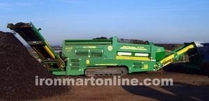 China Top Soil Screener for Sale Trommel Screen for Sale