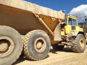 China Volvo A30C articulated truck