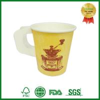 Customize Disposable Paper Espresso Coffee Cup With Handle Manufactures