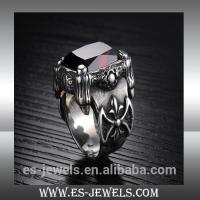 Buy cheap Fashion Style Big Ring Punk Jewelry Ring GJ430 from wholesalers