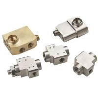 Brass Water Air Gas VALVE Body G NPT 1/4 1/8 Thread Manufactures