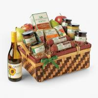 China Gifts Simply Hickory Farms Gift Basket on sale