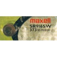 373 Maxell 1.5v Silver Oxide Watch Battery, SR916SW Manufactures