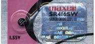 Maxell 337 1.55V Silver Oxide Watch Battery SR416SW Manufactures