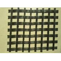 Buy cheap Self - Adhesive Pavement Reinforcement Geogrid Fibreglass Material Black Color from wholesalers