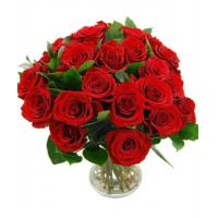 Anniversary Flowers 24 Red Roses Manufactures