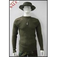 Military Sweater Olive Pullover Wool Pullover Sweater Manufactures