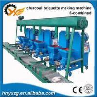 sawdust and wood chips briquette making machine with best price and high pressure Manufactures