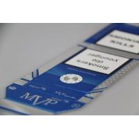 Buy cheap Printed Cigarette Packs On Silver Paperboard from wholesalers