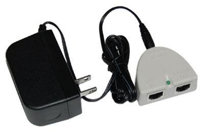 Quality 24VDC-POE Mikrotik 24vdc, 19 watt switching power supply with passive POE adapter for sale