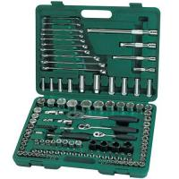 Quality SATA Socket Wrench Set 120pc 1/4,3/8,1/2 12kg Metric & SAE 09014 for sale