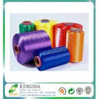 High Tenacity Dyed Polyester Label Yarn Twist DTY For Belt Manufactures