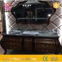 Vanity Top Cultured and Black Marble Vanity Countertops with Modern Design Manufactures