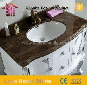 Quality Vanity Top Cultured Marble Bathroom Countertops and Vanity Tops with Sink for sale