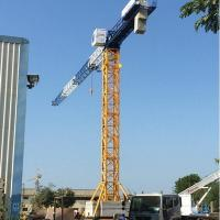 QTZ100P(6010) 8t Hot Sale 60m Boom Length Flat Head Tower Crane Manufactures