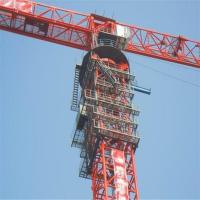 FHTT2800 125t Large Topless Tower Crane For Power Plant Building Manufactures