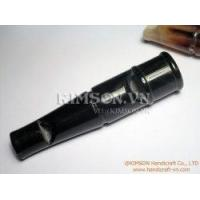 Two tone dog whistle made of black pure real cow horn (9 cm) Manufactures