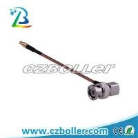 China RF Connector BNC Male R/A to MCX Female Crimp Type for RG178 Cable Assembly on sale