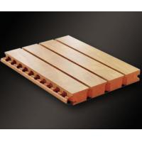 Buy cheap 2017 MDF Wooden Grooved Acoustic Panel from wholesalers