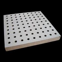 Buy cheap Wooden Perforated Acoustic Panel Wood TV Wall Panels from wholesalers