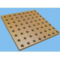 Buy cheap 2017 Eco Wooden Perforated Acoustic Ceiling Tiles from wholesalers