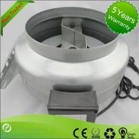 China duct fan noise 6 inch hvac centrifugal inline extractor on sale