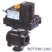 """3/4"""" 3-Way Electric Ball Valves - Threaded w/Flanged Inlet - BL - PPL Manufactures"""