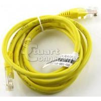 China Network Lot of 5 Yellow 58in CAT5 24AWG Ethernet Patch Cable 591344-001-00 on sale