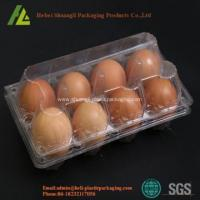 Buy cheap Custom Disposable blister Plastic Egg Tray from wholesalers