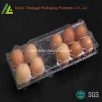 Buy cheap Plastic Clear 12 Compartments Egg Tray from wholesalers