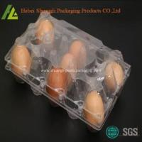 Buy cheap Thermoforming custom clear plastic egg tray from wholesalers