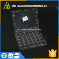 custom thermoformed plastic clamshell quail egg tray Manufactures
