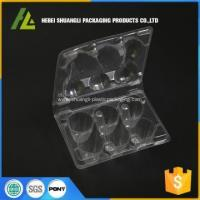 China clamshell packaging plastic quail egg carton on sale