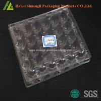 China Clear Covered plastic 30 quail Eggs tray on sale