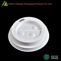 White PS coffee cup lid Manufactures