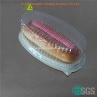 China Clear plastic cake box for sale on sale