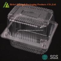 Plastic disposable cake containers on sale Manufactures